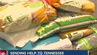 Indianapolis humane shelter giving supplies to help after Tenn. fires - Video