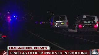 Pinellas Deputy involved shooting