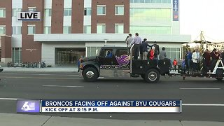 Homecoming Parade at Boise State University - Video