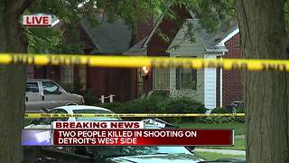 Masked men kill man & woman at Detroit home - Video