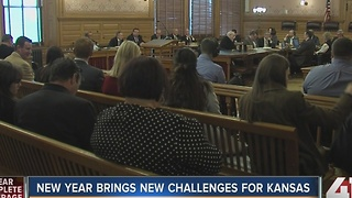New year brings new challenges for Kansas - Video