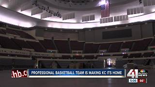 Professional basketball team is making KC its home - Video