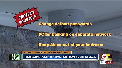 Protecting your information from smart devices