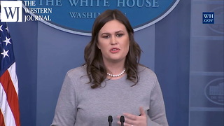 Following Trump's Israel Speech, Sarah Sanders Announces Physical Exam For President - Video