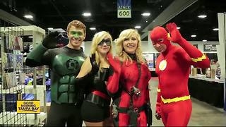 Tampa Bay roll out carpet for Comic Con fans and celebrities - Video