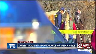 Arrest made in missing Welch girls case - Video