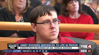 Rodgers sentenced to Life in Prison