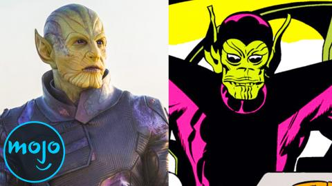 Supervillain Origins: Skrulls