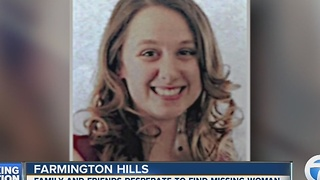 Search for missing Farmington Hills woman - Video