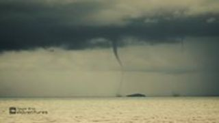 Two Waterspouts Spotted Near Carmila - Video