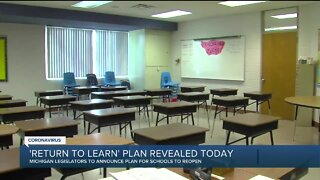 'Return to Learn' plan for students revealed today