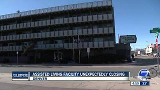 Denver assisted living facility closing unexpectedly - Video