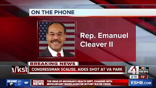 Congressman Emanuel Cleaver talks about shooting in Virginia - Video
