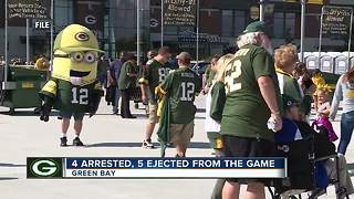 Packers pre-season arrest report