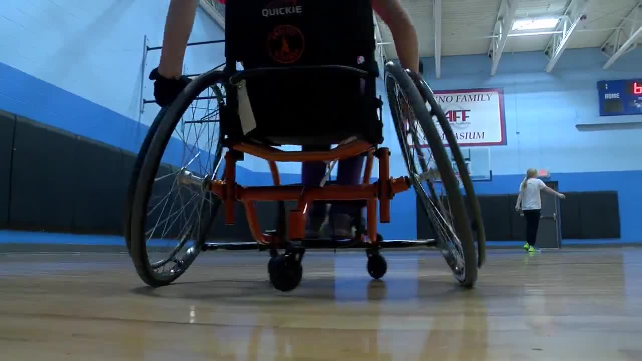 A wheelchair basketball league for kids comes to Depew
