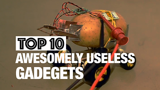 Top 10 Awesomely Useless Gadgets - Video
