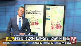 Pasco County launches Mobility 2045 Transportation Survey