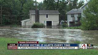 Rush Creek flooding puts homeowners underwater - Video