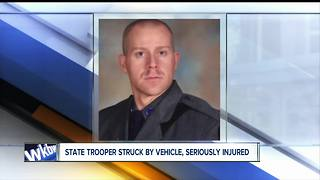 Trooper from Buffalo badly hurt - Video