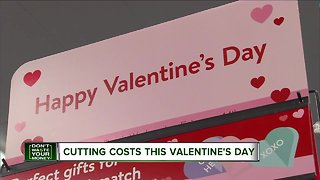 Cutting costs on Valentine's Day