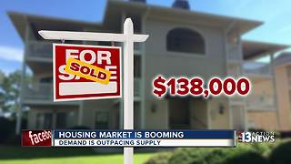 Las Vegas housing market is booming - Video