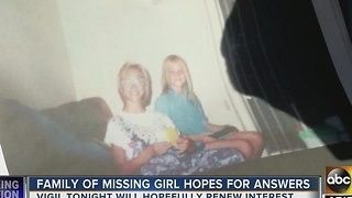 Police, family hope to find answers in years-old missing girl case - Video