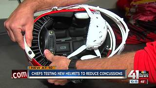 Chiefs testing potentially safer helmets - Video