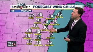 Michael Fish's NBC26 Storm Shield weather forecast