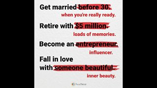 Rules to live by for a happier life