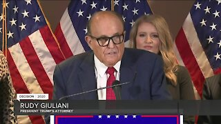 Rudy Giuliani claims without proof Trump won Wisconsin 'by a good margin'