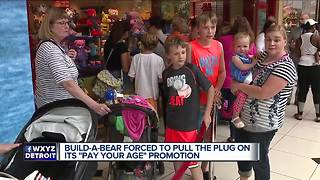 Build-A-Bear Workshop forced to close lines on 'Pay Your Age' Day citing crowd control issues