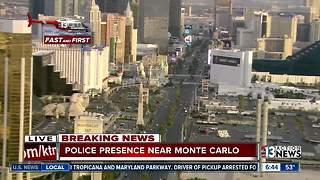 Man shot on Las Vegas Strip | Breaking news - Video