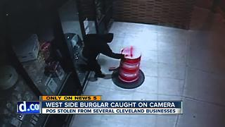 West side burglar caught on camera (again) - Video