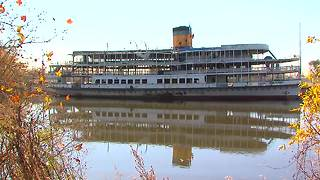 Boblo Boat renovations underway in 2016 - Video