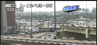 BREAKING NEWS: Several lanes on the 15 NB blocked off