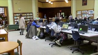 Cleveland Public Library opens today