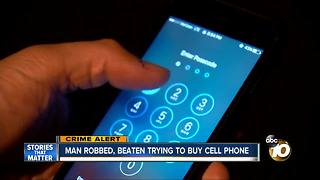 Man trying to buy phone via OfferUp app beaten, robbed by sellers - Video