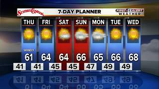 13 First Alert Weather for December 6 2017 - Video