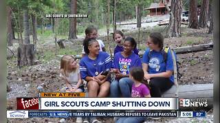 Girl Scouts of Southern Nevada closing doors to Camp Foxtail - Video