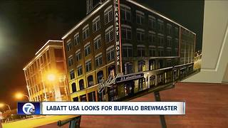 Plans to open Labatt brewery show strength of industry in Buffalo - Video
