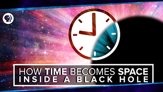 S2 Ep42: How Time Becomes Space Inside a Black Hole - Video