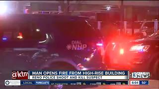Man opens fire from Reno building - Video