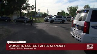 PD: Woman arrested during shooting, standoff near 47th Avenue and Greenway
