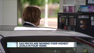 AAA Michigan: Statewide average daily gas price up 10 cents - Video