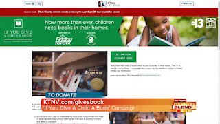 """""""If You Give A Child A Book"""" Campaign"""