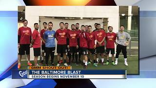 Good morning from the Baltimore Blast - Video