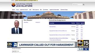 Arizona lawmaker called out for harassment