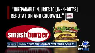 Battle of the Burgers: Denver-based Smashburger sued by In-N-Out over 'Triple Double' - Video