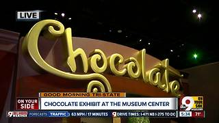 Chocolate exhibit opens at Museum Center - Video