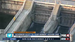Governor Scott to tour Hoover Dike - Video